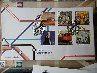 GB 2013 London Underground - First Day Cover