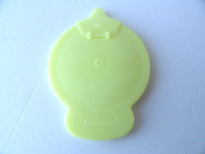 Tupperware Replacement Yellow Creamer Lid Spout Cover 575 576 Only