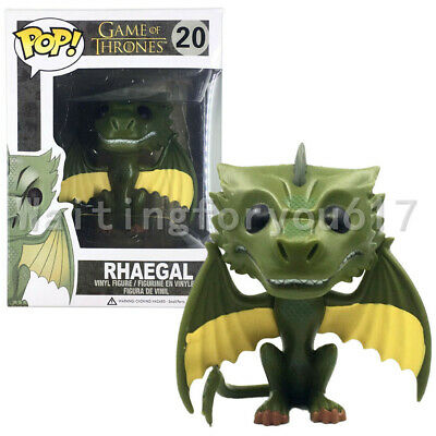 Funko Pop Game of Thrones Rhaegal #20 Vinyl Figure with Protector Box
