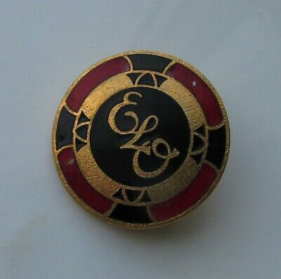 ELECTRIC LIGHT ORCHESTRA ELO 1970's VINTAGE ENAMEL PIN BADGE MR BLUE SKY