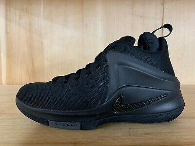 793a060663669 Nike Zoom Witness Lebron Black Dark Grey Basketball Kids Gs Sz 4.5 Y  860272-001