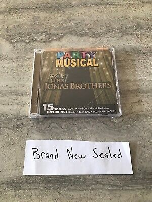 The Jonas Brothers ~ Party Musical ~ CD Disc * Brand New Sealed *