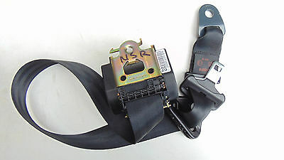 Peugeot 1007 1.4Hdi Seat Belt Passenger  Side Rear N/s/r
