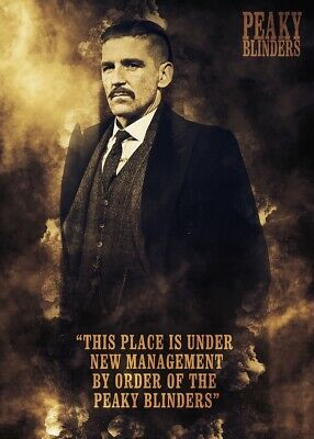 Peaky Blinder, TV Series, Arthur Shelby Poster Print, Wall Art, Home Decor, Gift