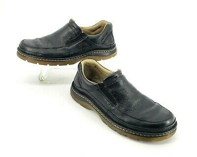 0b92d914195 Dr Martens Mens US 12 M UK 11 Loafers Slip on Casual Shoes Black Leather