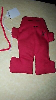 Lover RED VOODOO DOLL Poppet Wicca Pagan Hoodoo Love Witchcraft USA Happy Marry
