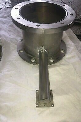 "MDC VARIAN  11"" 3 Way High Vacuum Research Chamber with Conflat Flange"
