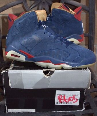 ad065881a6e068 AIR JORDAN 6 VI Doernbecher DB Charity 2009 Sz.11 DS NIB Navy Red ...