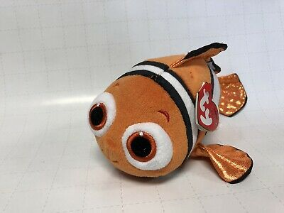 TY Beanie Babies Disney Finding Dory Nemo Stuffed Collectible Plush Toy NEW