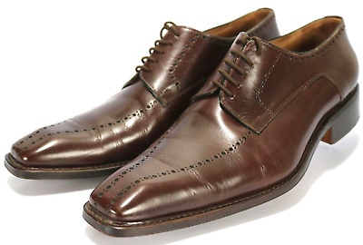 a679c673709 Yves Saint Laurent Men's $220 Oxford Dress Shoes Size 8 Leather Brown