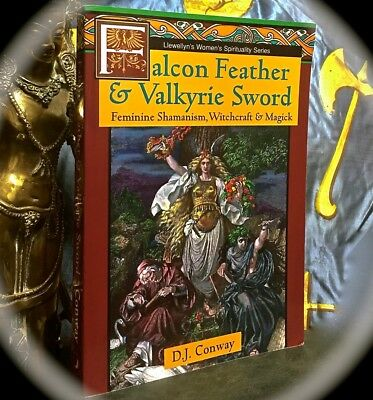 Falcon Feather & Valkyrie Sword: Feminine Witchcraft & Magick  1St Print Sc 1995