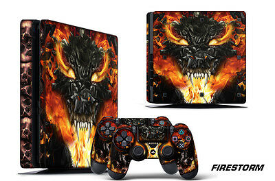 Devoted Ps4 Slim Sticker Console Decal Playstation 4 Controller Vinyl Skin Brunette Video Game Accessories