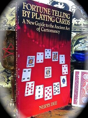 Nerys Dee: Fortune Telling By Playing Cards ~ Sc 1983 ~ Occult Tarot Cartomancy
