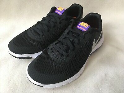 4b5ff1273328 NIKE Boys Youth Flex Experience 5 Running Shoes Sneakers Black 844995 NEW 4  5.5
