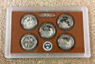 2019-S U.S.Mint America The Beautiful Quarters Proof Set. W/O Box