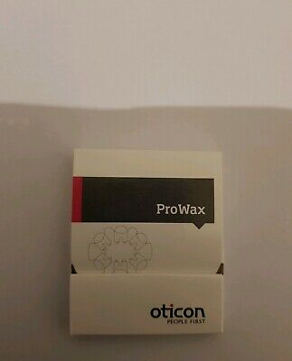 Oticon Pro Wax filters pack of 6