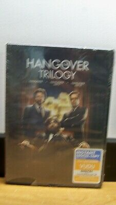 New The Hangover Trilogy 3 Dvd  Free 1St Cls  S&h