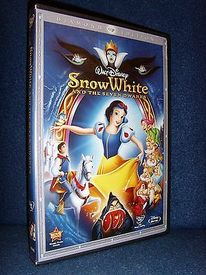 Snow White and the seven Dwarfs (Blu-ray/DVD, 2009, 3-Disc Set, Diamond Edition)