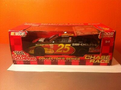 Racing Champions Chase The Race 1:24 Nascar #25 Jerry Nadeau Chevy  2002