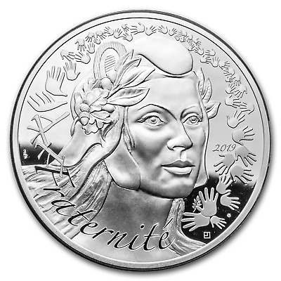 2019 France Silver €100 Marianne Proof (Face Value Coin) - SKU#186986