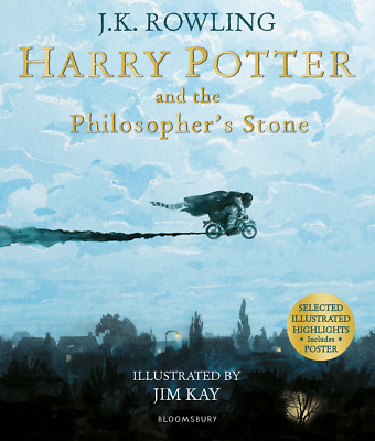 Harry Potter and the Philosopher's Stone: Illustrated Editio PAPERBACK NEW BOOK