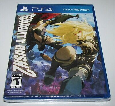 Gravity Rush 2 for Playstation 4 PS4 Brand New! Factory Sealed!