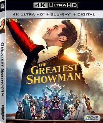 Greatest Showman 4K UHD 4K (used) Blu-ray Only Disc Please Read