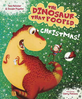 The Dinosaur That Pooped Christmas! PAPERBACK NEW BOOK