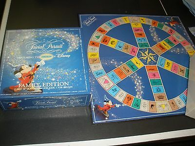 Vintage 1986 Trivial Pursuit Featuring the Magic of Disney Family Edition