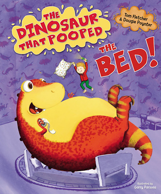 The Dinosaur That Pooped Bed PAPERBACK NEW BOOK
