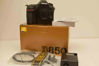 Nikon D850 FX-Format Digital SLR Camera Body with box