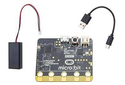 Integrated Circuits Bbc Micro:bit Nrf51822 Development Board Micro-controller With Motion Detection Compass Led Display And Bluetooth High Quality