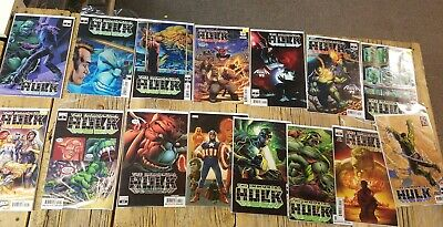 IMMORTAL HULK 1 2 3 4 5 6 7 8 9 10 11 12 13 14 15 LOT COMPLETE Read description