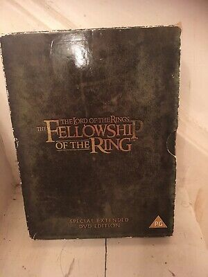 Lord of the rings fellowship of the ring Special Extended Edition 2001