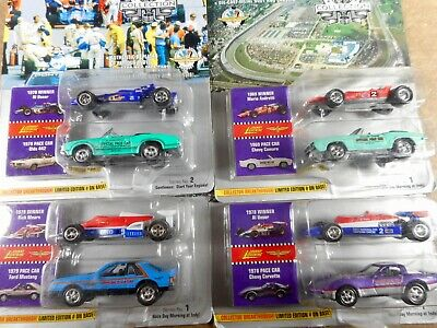 Johnny Lighting Indianapolis 500 Lot Of 4 Sets - 1:64Th Scale  Die-Cast No#1