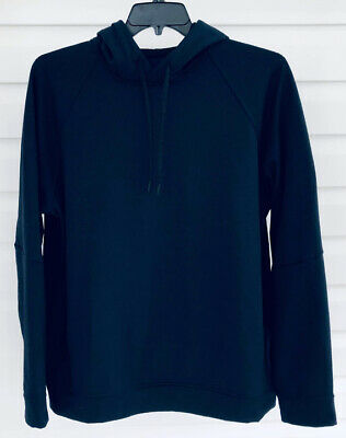 55d9aab9d ☀️Lululemon Men s City Sweat Pullover Hoodie Thermo Brushed Fleece Navy ~ XL