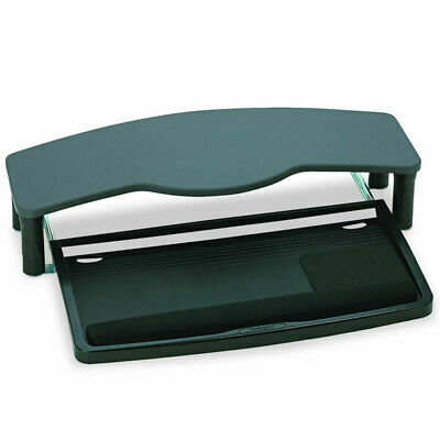 Kensington Over Desk Comfort Keyboard Drawer Table/Desk Organiser Shelf Rack BLK