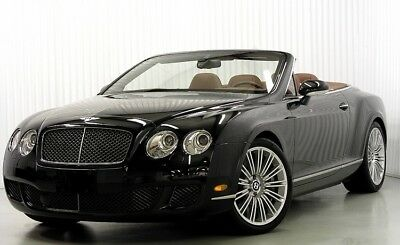 2009 Bentley Continental GT SPEED GTC 2009 BENTLEY SPEED GTC CONVERTIBLE $271,000 MSRP CARBON BRAKES SPECIAL ORDER