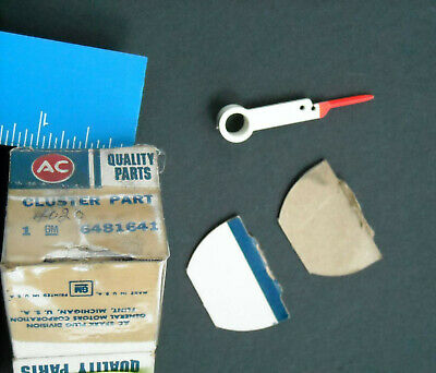 1968 NOS Chevrolet big car AUTOMATIC SHIFT DASH INDICATOR red POINTER #6481641