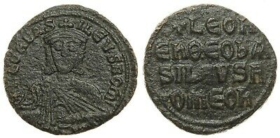Leo VI The Wise (886-912 AD) Æ Follis Constantinople (23 mm; 7.32g) / Sear 1729