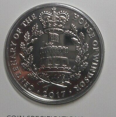 United Kingdom 2017 House of Windsor 5 Pound Coin ex mint set BUNC