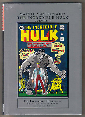 Marvel Masterworks The Incredible Hulk Vol 1 Hardcover FS HC Lee Kirby Ditko MMW