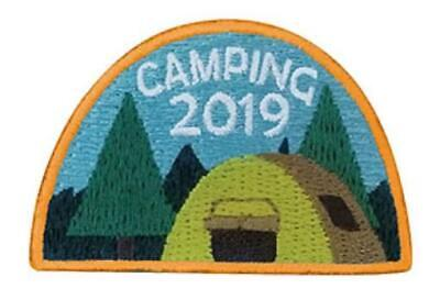 GIRL BOY CUB CAMPING 2019 Fun Patches Crests badges SCOUTS GUIDES trip Camp  Out