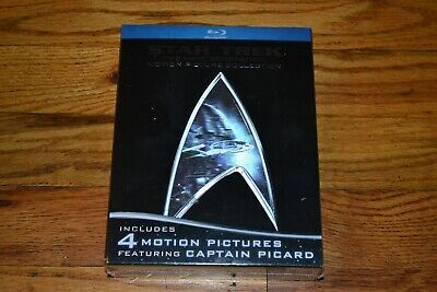 Star Trek The Next Generation Motion Picture Collection 5 Blu-Ray Box Set Sealed