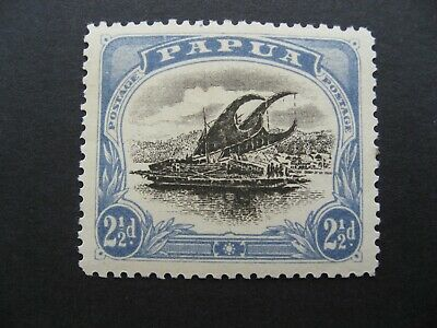 Papua Lakatoi, SG69a MH CV $240.00 Thin D, as per photos