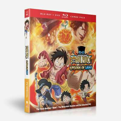 One Piece TV Special: Episode of Sabo (Blu-ray Disc/DVD, 2019, 2-Disc Set)