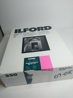 "Ilford Photo MGIV 8"" x 10"" 250 Sheets Glossy"