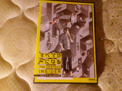 The Perfect Insider: The Complete Collection (DVD, 2016, 2-Disc Set)