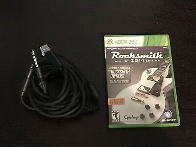 Rocksmith -- 2014 Edition (Microsoft Xbox 360, 2013) - includes Real Tone Cable