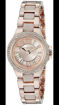 8f5958b8bed7 Michael Kors MK4292 Camille Rose Gold Dial Two Tone Stainless Women s Watch
